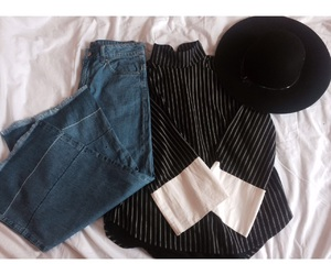 elegant fashion and jeans and tops image