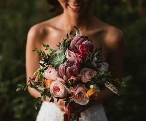 bouquet, flowers, and photography image