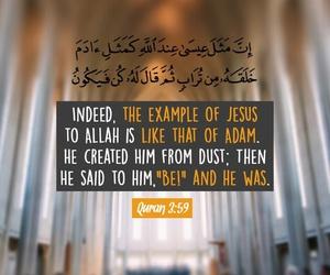 adam, jesus, and god image