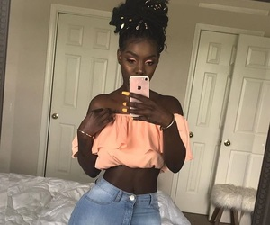 beautiful, melanin, and jeans image