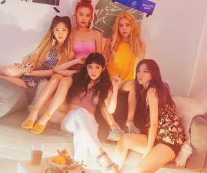 kpop, red velvet, and the red summer image