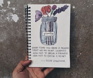promise, quotes, and flowers image