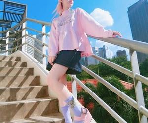 Harajuku, kawaii, and pink image