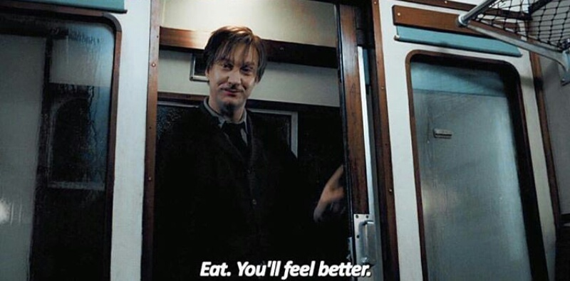harry potter, eat, and remus lupin image