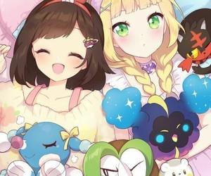 anime girl, pokemon, and fan art image