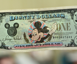 disney, dollar, and money image
