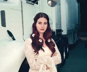lana del rey, lust for life, and vintage image