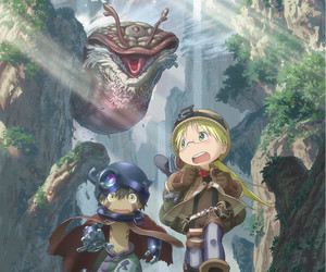 made in abyss, anime, and reg image