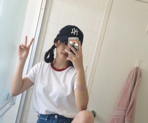 asian, ulzzang girl, and fashion image