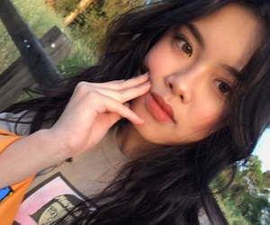asian and pretty image