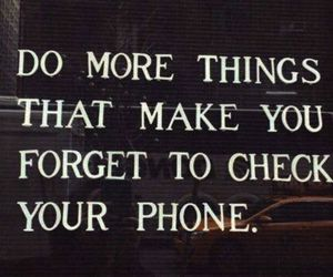 inspiration, phone, and quotes image