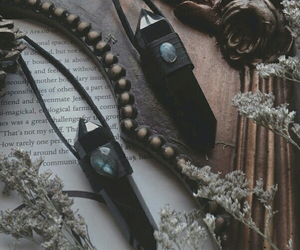 witch, witchcraft, and crystals image