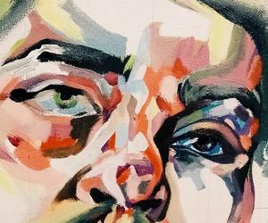 guy, acrylic, and art image