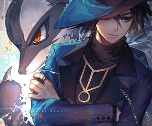 anime, pokemon, and lucario image