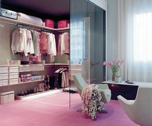pink, room, and clothes image