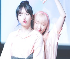 soobin, subin, and wjsn image