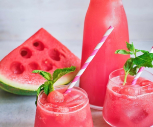 delicious, fruit, and ice image