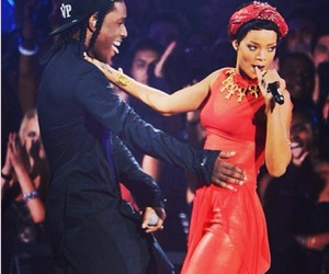 rihanna, asap rocky, and riri image