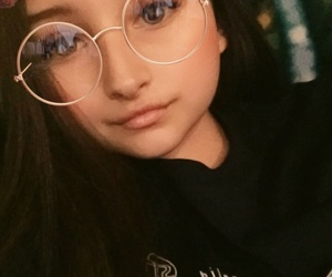 beauty, filters, and glasses image