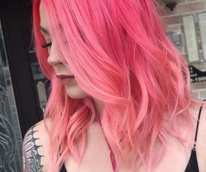 beauty, coloured, and dyed hair image