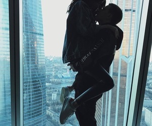 city, couple, and relationship goals image