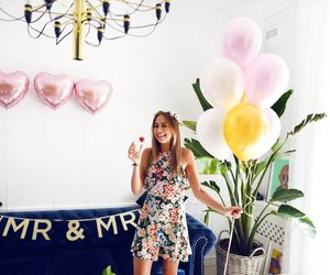 balloons, fashion, and outfit image