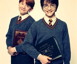 harry potter and harry e rony ♥ image