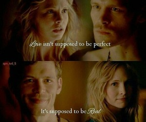 joseph morgan, klaroline, and the vampire diaries image