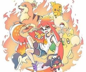 anime, games, and pokemon image