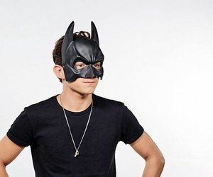 Marvel, tom holland, and batman image