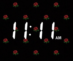 11:11, flowers, and make a wish image