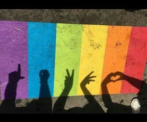 lgbt, love, and pride image