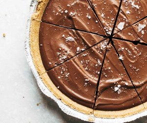 chocolate, dessert, and pie image