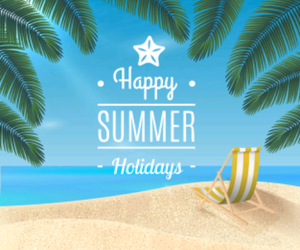 beach, holiday, and summer image