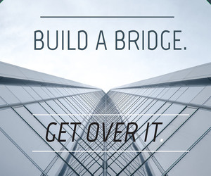 bridge, cry, and quotes image