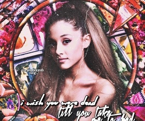 edit, overlay, and ariana image
