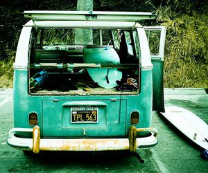 surf, car, and blue image