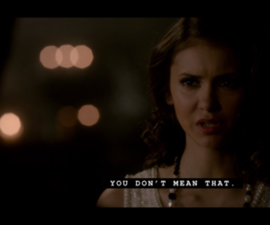 lie, Vampire Diaries, and quote image