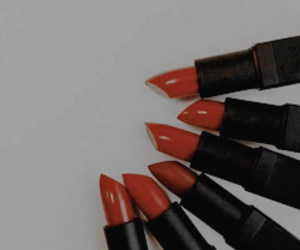 lipstick, red, and beauty image