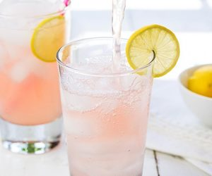 pink, food, and drinks image
