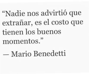 poesia, mario benedetti, and love image