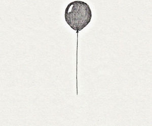 let it go, balloons, and quotes image
