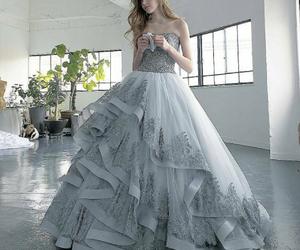 bridal, girl, and clothing image