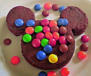 food, chocolate, and disney image