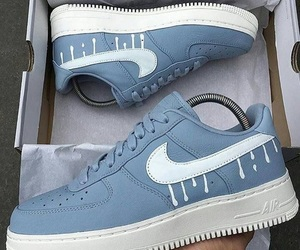nike, blue, and sneakers image