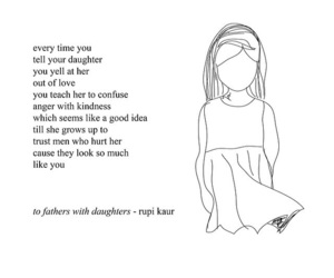quotes, poetry, and rupi kaur image