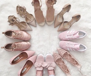 pink, fashion, and shoes image