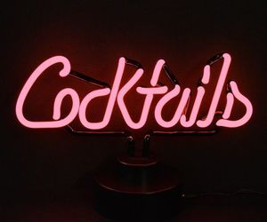Cocktails, lights, and party image