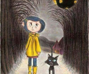 coraline and drawing image