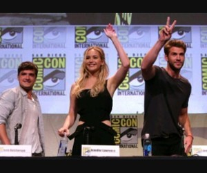 comic con, Jennifer Lawrence, and hunger games image